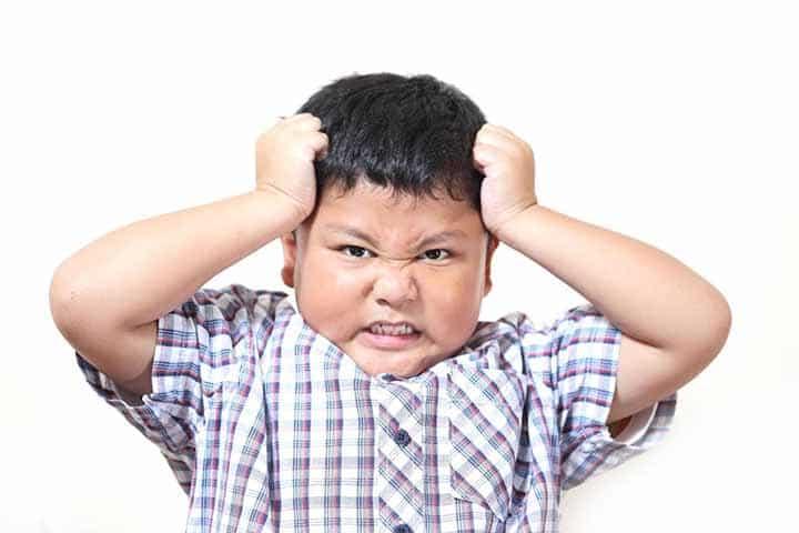 عصبانیت و آشفتگی کودکان