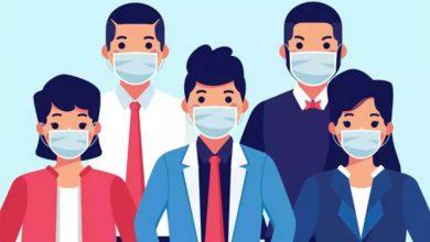 تصویر از اینفوگرافیک: باید و نبایدهای ماسک زدن