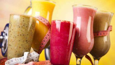 7 نوشیدنی مختلف برای کاهش وزن