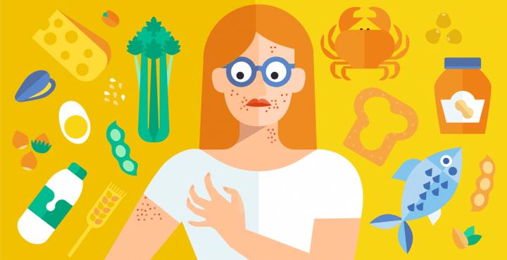 آلرژی غذایی میتواند باعث علائم شدید یا حتی یک واکنش تهدید کننده زندگی شود