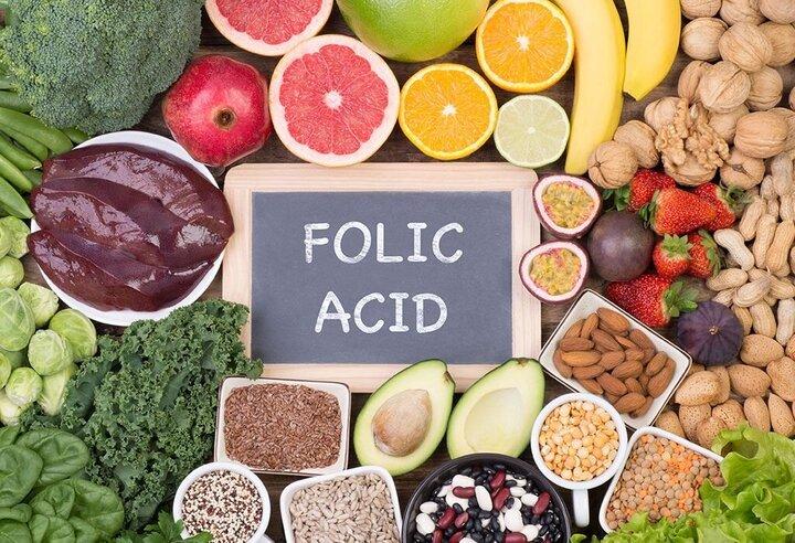 روزانه از منابع اسید فولیک در رژیم غذایی بارداری استفاده کنید