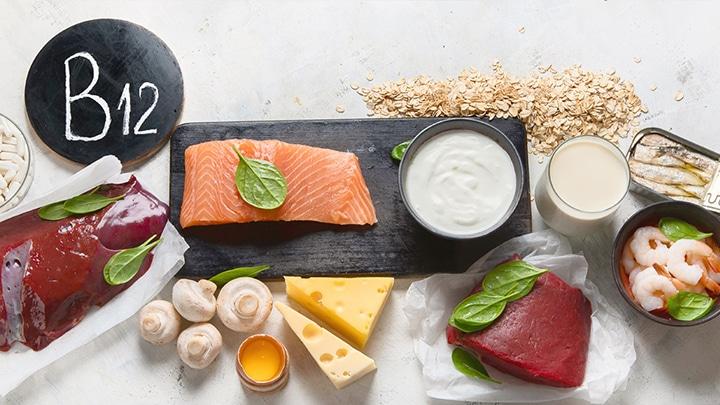 مواد غذایی حاوی ویتامین ب 12